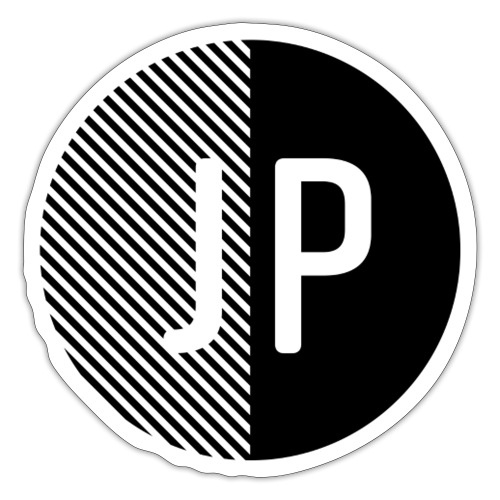 JP Icon Black 3 - Sticker