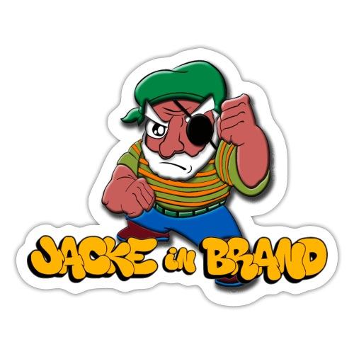 Jacke in Brand - Sticker