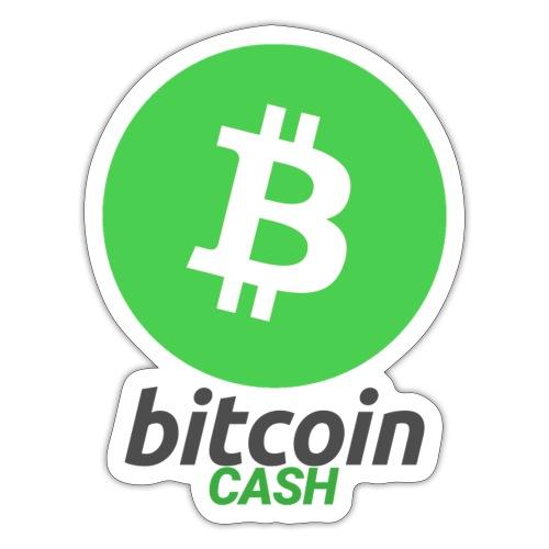 Bitcoin Cash - Klistermärke