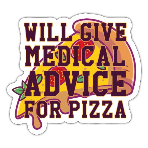 Pizza II - Sticker