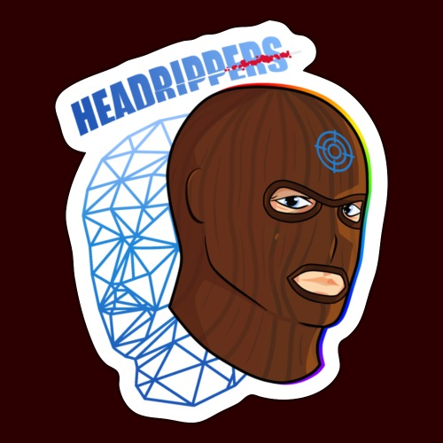 HeadRippers - Sticker