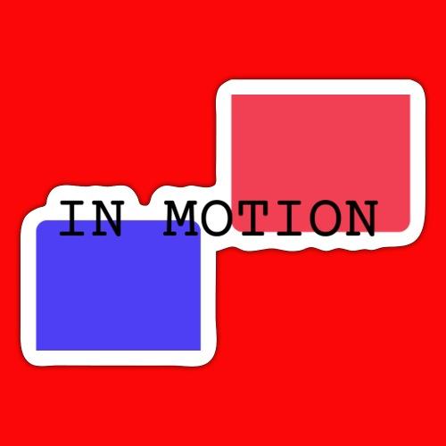 In Motion - Sticker