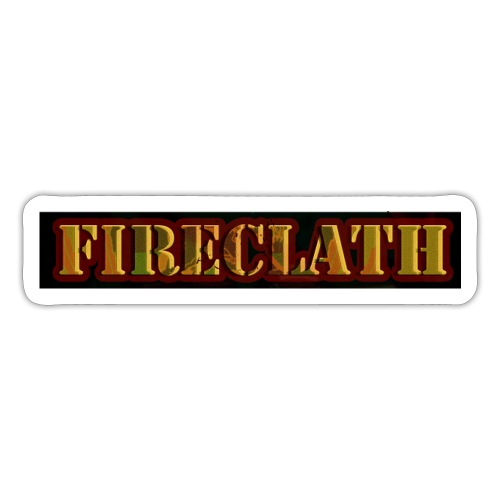 Fireclath Merch - Sticker