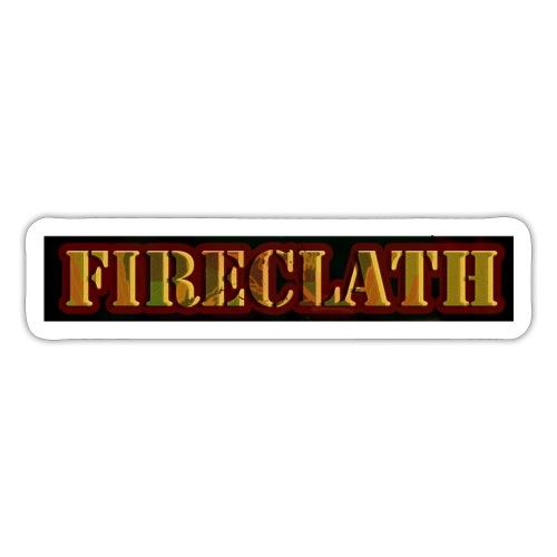 Fireclath Merch - Sticker