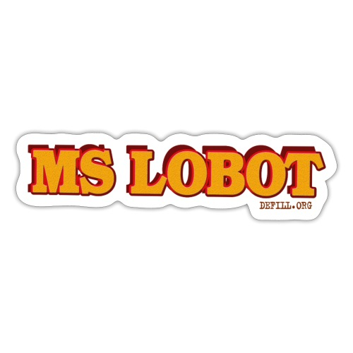 Ms Lobot - Mr Lobot Female Edition - Sticker