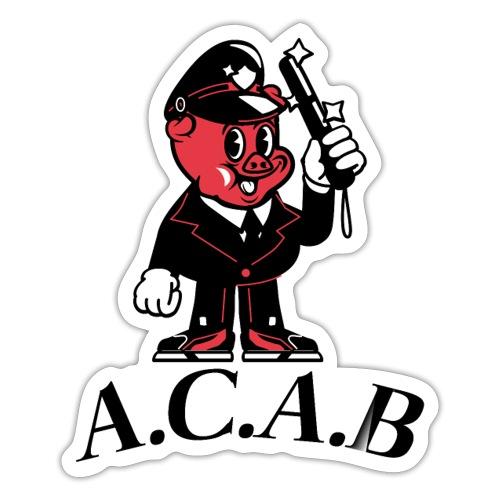A.C.A.B cochon - Autocollant