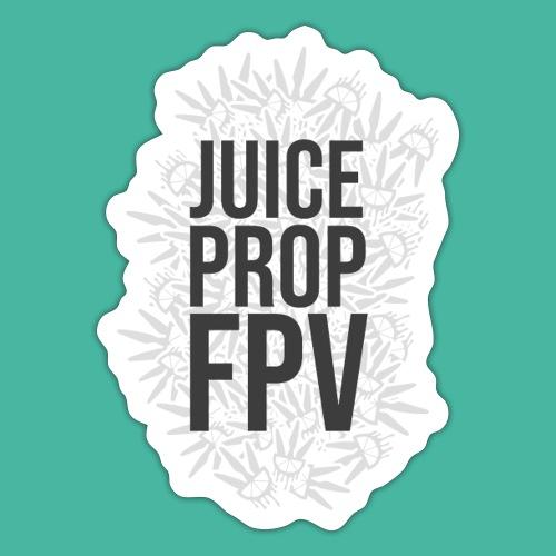 JuicePropFPV LOGO Pile Text Only - Sticker