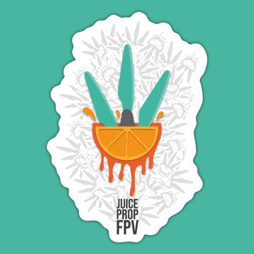 JuicePropFPV LOGO Pile - Sticker