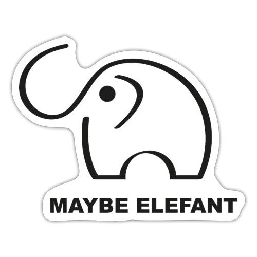 Maybe Elefant - Sticker