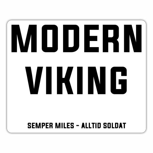 Modern Viking - Klistermärke