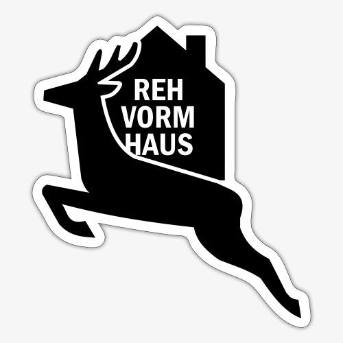 Reh-Vorm-Haus - Sticker
