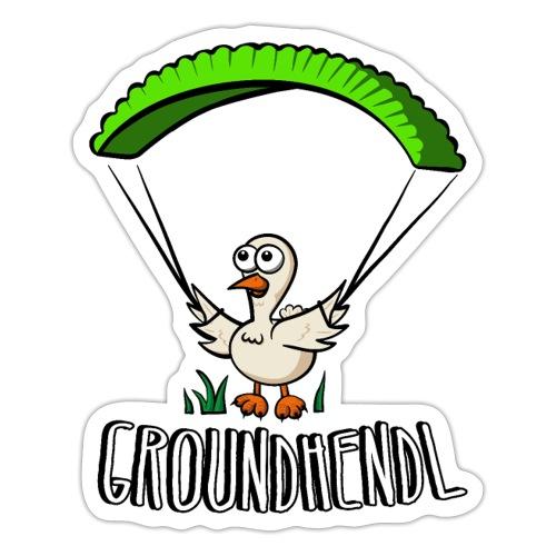 Groundhendl Groundhandling Hendl - Sticker