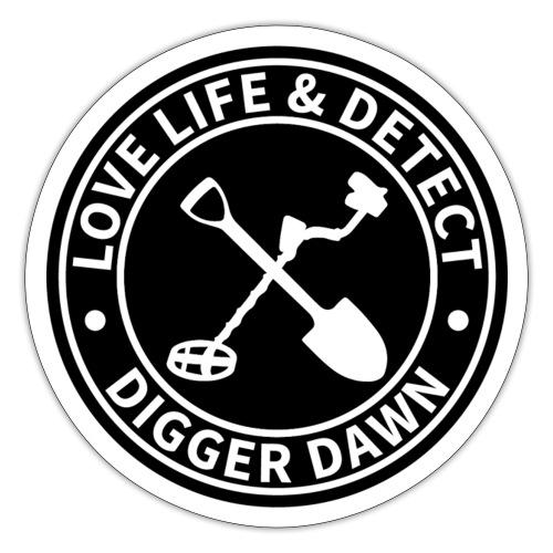 Digger Dawn Merchandise - Sticker