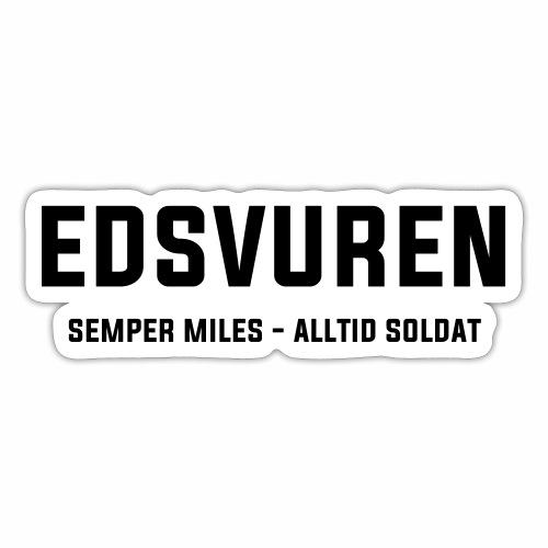 Edsvuren - Klistermärke