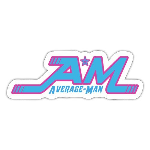 Average-Man New - Sticker