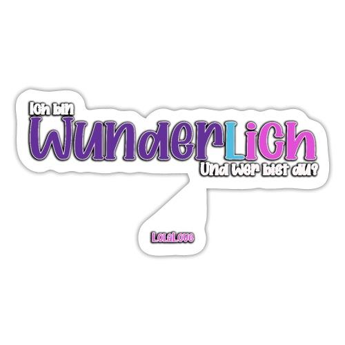 Ich bin WunderlICH - Sticker