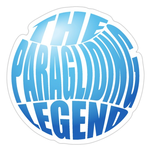 The Paragliding Leged - Sticker