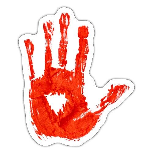 Bloody Hand - Klistermärke