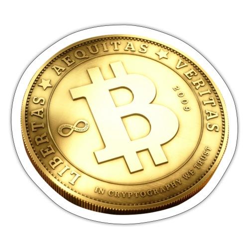 Bitcoin - Klistermärke