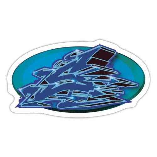 S Graffiti Initials - Sticker