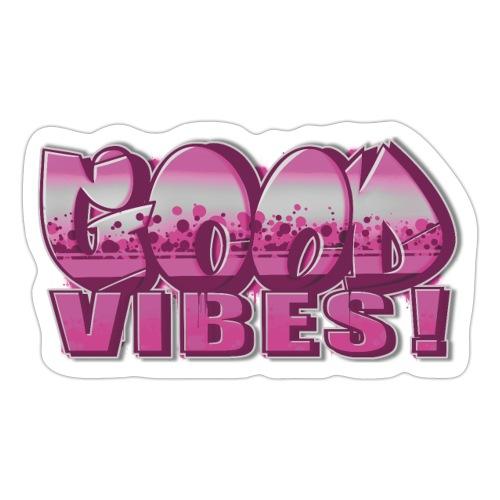 Good Vibes Pink - Sticker