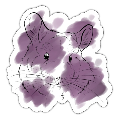 Violet splash chinchilla - Tarra