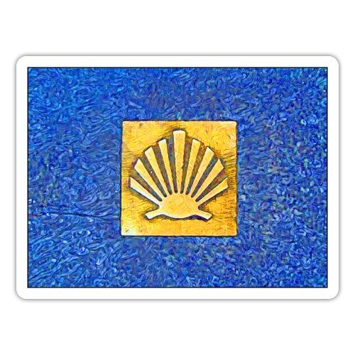Scallop Shell Camino de Santiago - Sticker