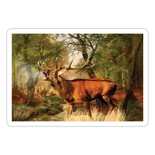 Deer rut - Sticker