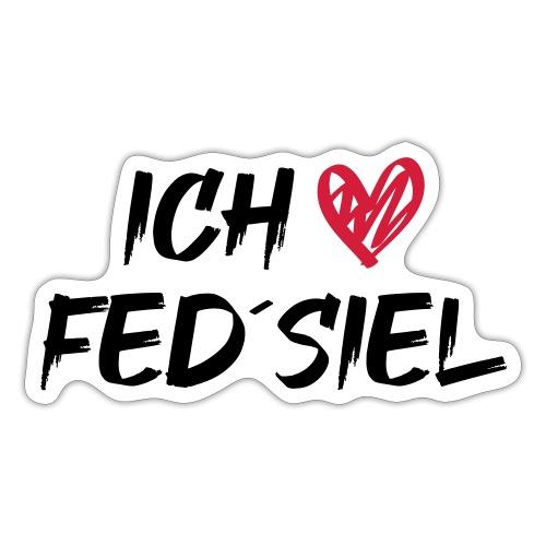 Ich liebe Fed´siel - Sticker