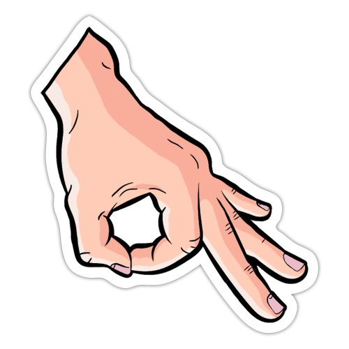 The Circle Game Ok Emoji Meme - Sticker