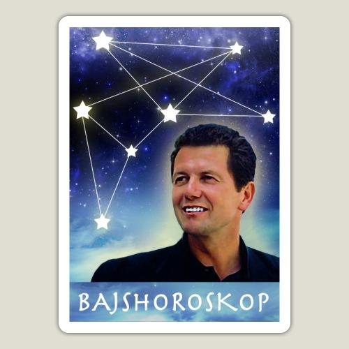 Astrologen Röger på Bajshoroskop - Klistermärke