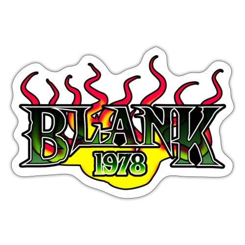 Blank 78 - Klistermärke
