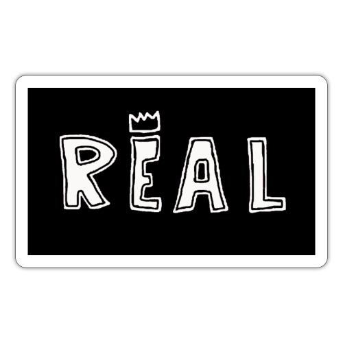 REAL (Black & White) - Sticker
