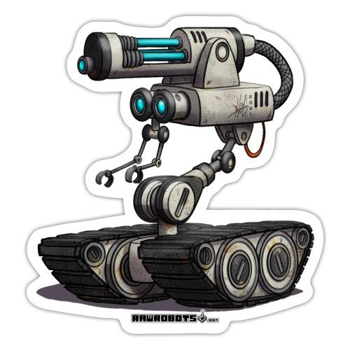Mobil Laser Gun Robot (M.L.G.R)! - Sticker