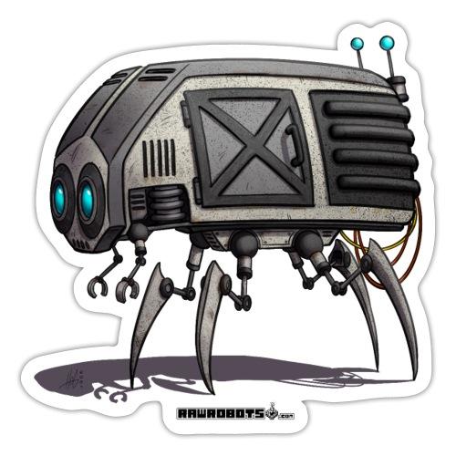 The C.O.W. Robot! (Convenient Office Walker) - Sticker