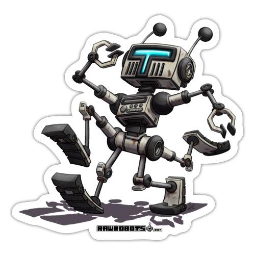 The R.U.N. Robot! (Running Utility Nanodroid) - Sticker
