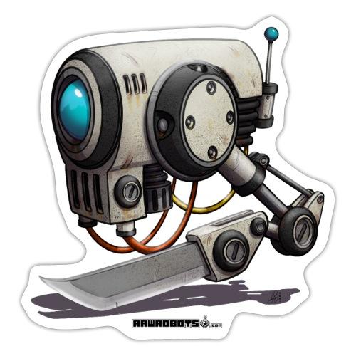 The C.H.O.P. Robot! (Cut Hard Object Precise) - Sticker