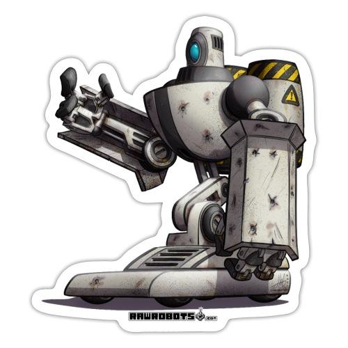 The S.H.I.E.L.D. Robot! - Sticker