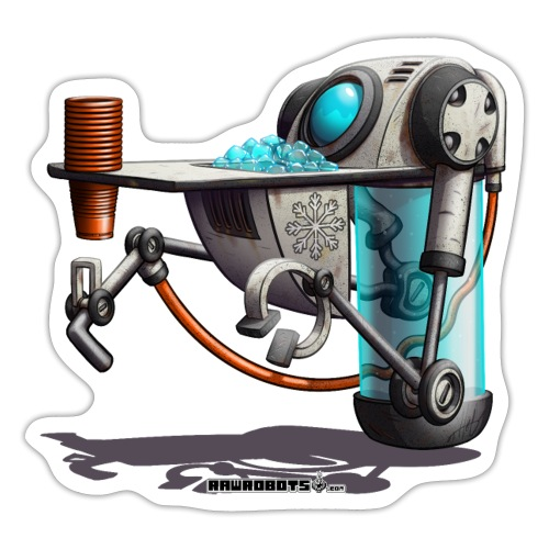 The W.A.T.E.R. Robot! - Sticker