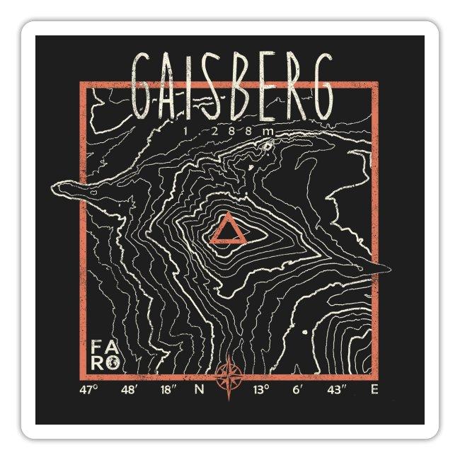 Gaisberg Contour Lines - Pitch Black