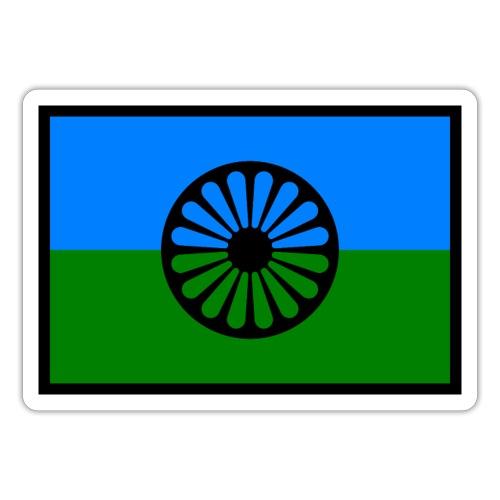 romaniflaga - Klistermärke