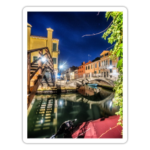 Venice Night - Sticker