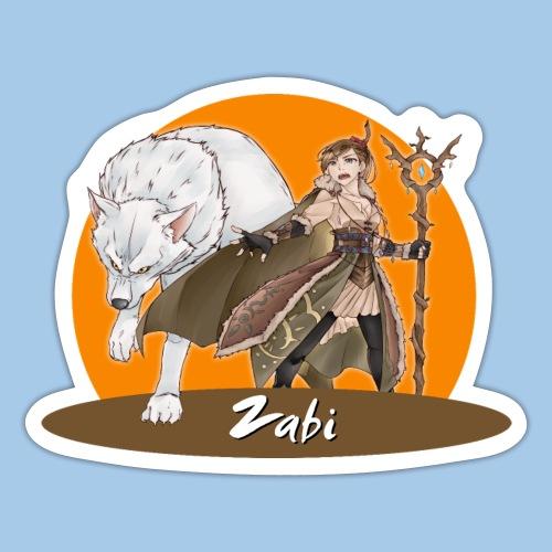 Zabi - Guardian of Nature - Sticker