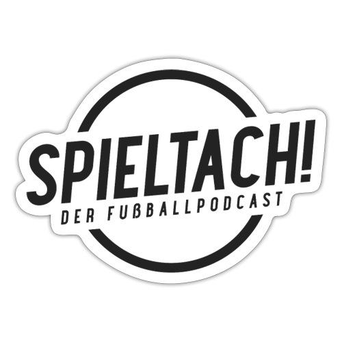 Logo Spieltach - Schwarz - Sticker