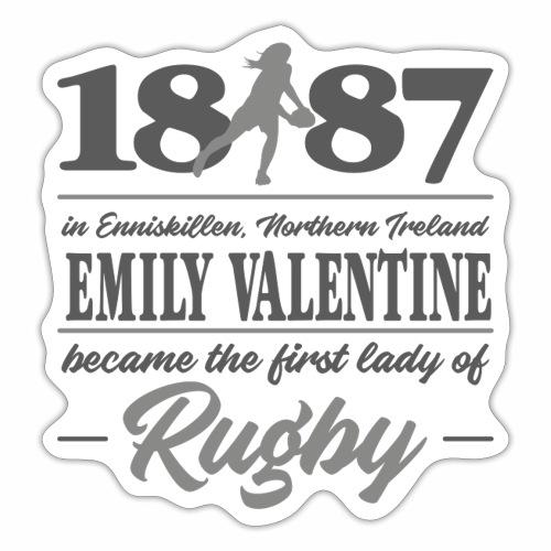 Marplo Emily Valentine Grey - Adesivo