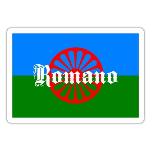 Flag of the Romanilenny people svg - Klistermärke
