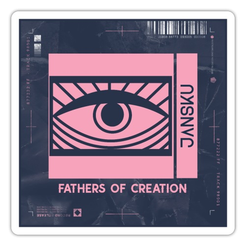 Fathers of Creation STICKER - JΛNSKU - Tarra