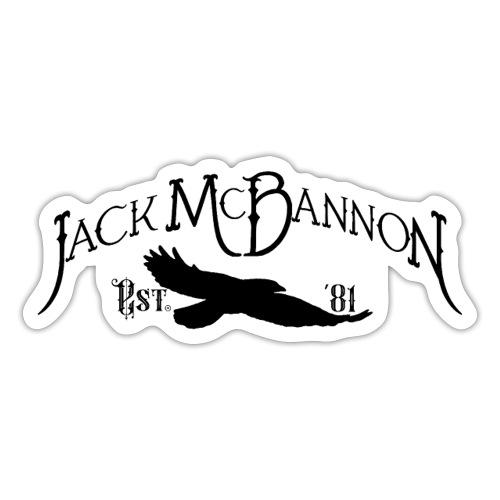 Jack McBannon - Crow 81 II - Sticker