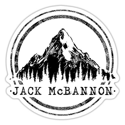 Jack McBannon - Mountain II - Sticker