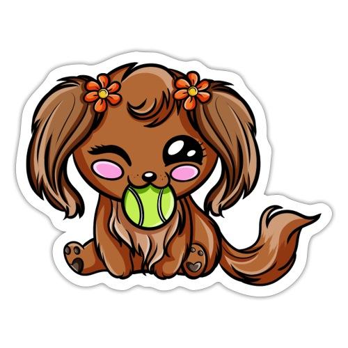 Puppy Dog Kawaii - Autocollant